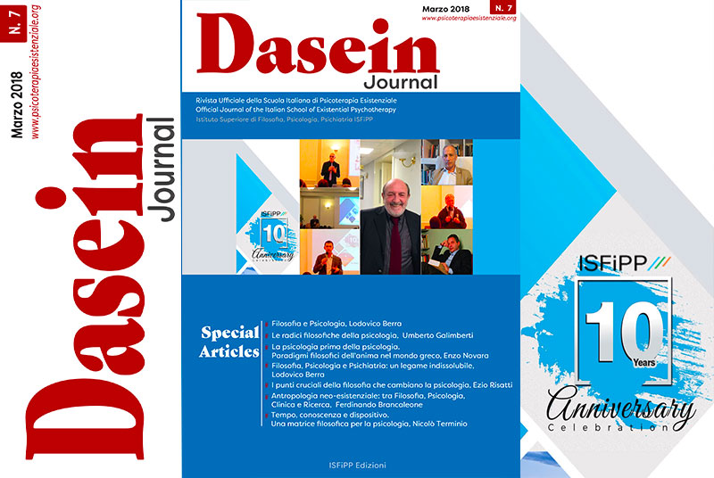 Dasein Journal Marzo 2018